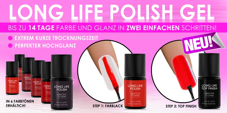 LONG LIFE POLISH GEL