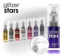 Glitzer Stars