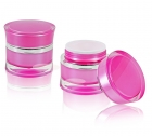 Fiberglas UV Gel 30ml 2er SET - rose & clear je 15ml